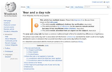 http://en.wikipedia.org/wiki/Year_and_a_day_rule