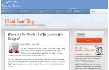 http://blog.cloudfour.com/where-are-the-mobile-first-responsive-web-designs/