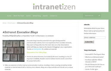 http://intranetizen.com/2011/11/15/intranet-executive-blogs/