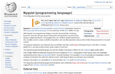 http://en.wikipedia.org/wiki/Nyquist_(programming_language)