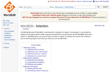 http://wiki.sk89q.com/wiki/WorldEdit/Selection