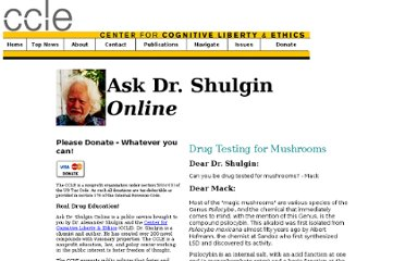 http://www.cognitiveliberty.org/shulgin/adsarchive/drug_testing_mushrooms.htm