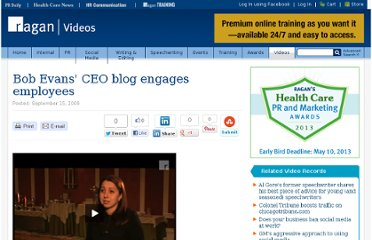 http://www.ragan.com/Main/Video/Bob_Evans_CEO_blog_engages_employees__1177.aspx