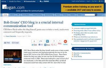 http://www.ragan.com/Main/Articles/Bob_Evans_CEO_blog_is_a_crucial_internal_communica_34873.aspx