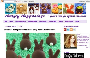 http://www.hungryhappenings.com/2012/04/chocolate-bunny-silhouettes-made-using.html