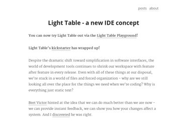 http://www.chris-granger.com/2012/04/12/light-table---a-new-ide-concept/