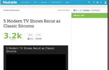 http://mashable.com/2012/04/13/tv-recut-as-sitcoms/
