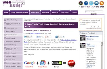 http://www.webadvantage.net/webadblog/3-free-tools-that-make-content-curation-super-easy-4718
