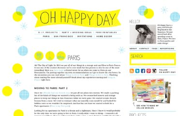 http://ohhappyday.com/category/paris/