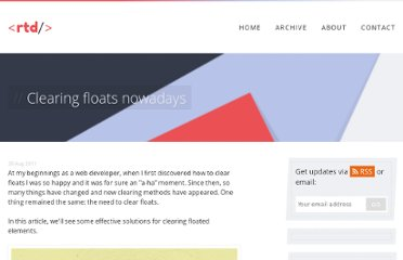 http://www.red-team-design.com/clearing-floats-nowadays