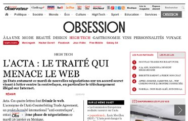 http://obsession.nouvelobs.com/high-tech/20100126.OBS4854/l-acta-le-traite-qui-menace-le-web.html