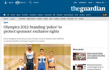 http://www.guardian.co.uk/sport/2012/apr/13/olympics-2012-branding-police-sponsors