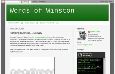 http://winstongordon.blogspot.com/2012/04/handling-businesssocially.html
