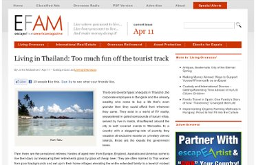 http://www.escapefromamerica.com/2011/04/living-in-thailand-too-much-fun-off-the-tourist-track/