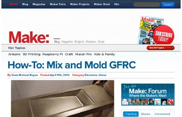 http://blog.makezine.com/2012/04/11/how-to-mix-and-mold-gfrc/