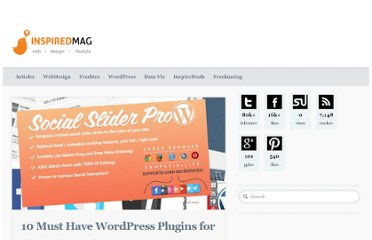http://inspiredm.com/10-must-have-wordpress-plugins-for-the-modern-blogger/