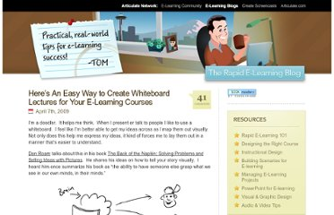http://www.articulate.com/rapid-elearning/easy-way-to-create-whiteboard-lectures-for-your-e-learning-courses/