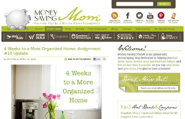 http://moneysavingmom.com/2012/04/4-weeks-to-a-more-organized-home-assignment-10-update.html