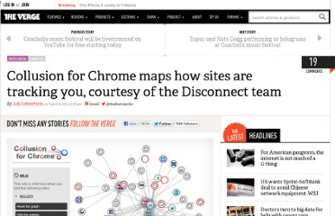 http://www.theverge.com/2012/4/13/2945920/collusion-for-chrome-disconnect-me-site-cookie-tracking