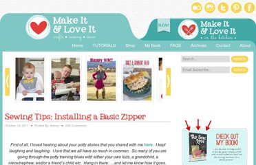 http://www.makeit-loveit.com/2011/10/sewing-tips-installing-a-basic-zipper.html