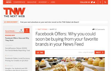 http://thenextweb.com/socialmedia/2012/04/14/facebook-offers-why-you-could-soon-be-buying-from-your-favorite-brands-in-your-news-feed/