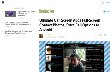 http://lifehacker.com/5901830/ultimate-call-screen-adds-full+screen-contact-photos-extra-call-options-to-android