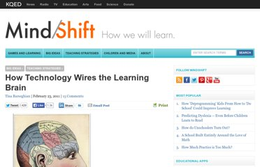 http://blogs.kqed.org/mindshift/2011/02/how-technology-wires-the-learning-brain/