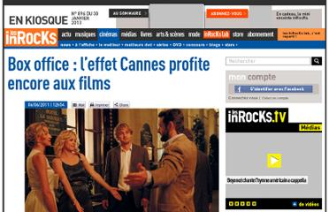 http://www.lesinrocks.com/2011/06/06/cinema/box-office-leffet-cannes-profite-encore-aux-films-1114210/