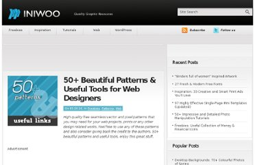 http://iniwoo.net/web/beautiful-free-web-patterns/