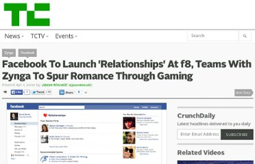 http://techcrunch.com/2010/04/01/facebook-to-launch-relationships-at-f8-teams-with-zynga-to-spur-romance-through-gaming/