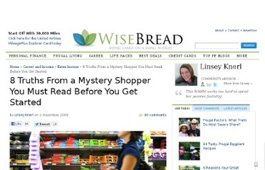 http://www.wisebread.com/8-truths-from-a-mystery-shopper-you-must-read-before-you-get-started