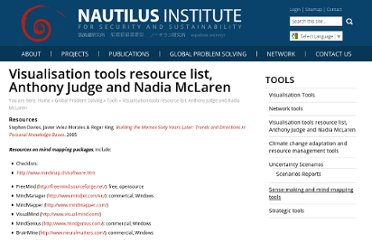 http://nautilus.org/gps/tools/visualisation-tools-resource-list-anthony-judge-and-nadia-mclaren/