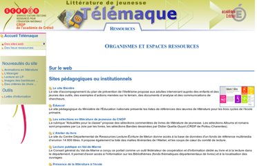 http://www.cndp.fr/crdp-creteil/telemaque/document/autres_sites.htm