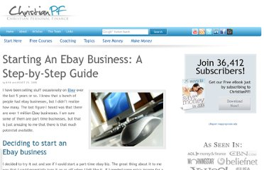 http://christianpf.com/starting-an-ebay-business-a-step-by-step-guide/