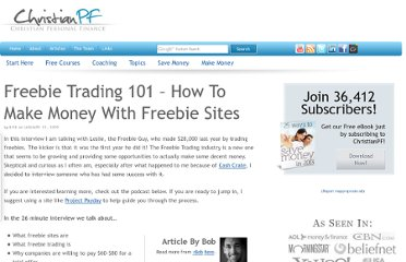 http://christianpf.com/freebie-trading-101-how-to-make-money-with-freebie-sites/