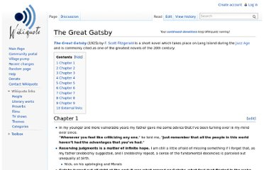 http://en.wikiquote.org/wiki/The_Great_Gatsby