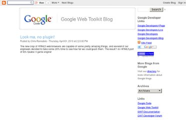 http://googlewebtoolkit.blogspot.com/2010/04/look-ma-no-plugin.html