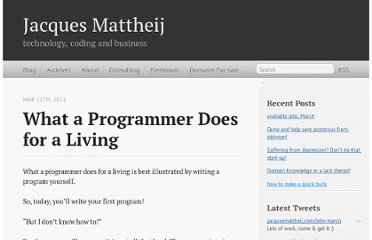 http://jacquesmattheij.com/what+a+programmer+does+for+a+living
