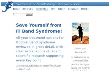 http://saveyourself.ca/tutorials/iliotibial-band-syndrome.php