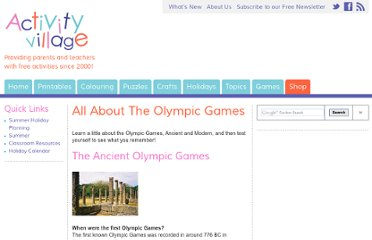 http://www.activityvillage.co.uk/all_about_the_olympic_games.htm