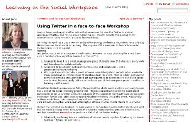 http://www.c4lpt.co.uk/blog/2010/05/02/using-twitter-in-a-facetoface-workshop/