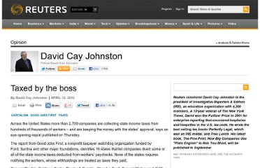 http://blogs.reuters.com/david-cay-johnston/2012/04/12/taxed-by-the-boss/