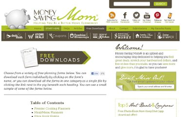 http://moneysavingmom.com/downloads/all-free-downloads