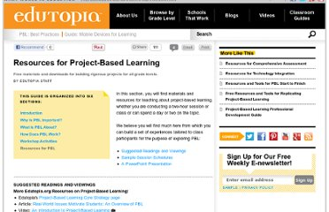 http://www.edutopia.org/project-based-learning-guide-resources