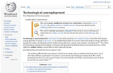 http://en.wikipedia.org/wiki/Technological_unemployment