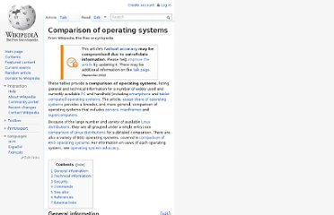 http://en.wikipedia.org/wiki/Comparison_of_operating_systems