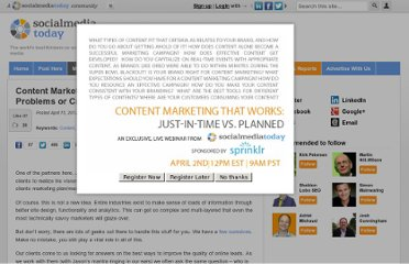 http://socialmediatoday.com/jonmikelbailey/489759/content-marketing-are-you-solving-problems-or-creating-noise