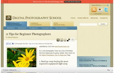 http://digital-photography-school.com/11-tips-for-beginner-photographers