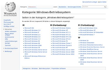http://de.wikipedia.org/wiki/Kategorie:Windows-Betriebssystem