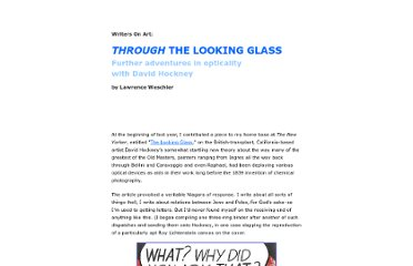http://www.believermag.com/hockney/lookingglass/index.html